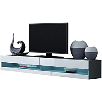 Amazon Com Domadeco Seattle Wall Mounted Tv Stand Tv