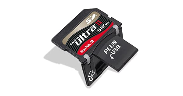 Amazon.com: SanDisk Ultra II SD Plus con 512 MB USB (sdsdph ...