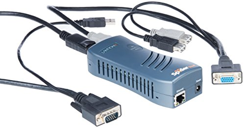 1PORT Local + Remote USB Securelinx Spiderduo KVM Over Ip by Lantronix