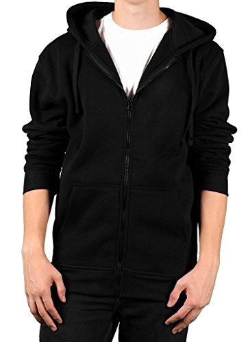 Mens PPC Pacific Polo Club Full Zip Sweater - Black - XL