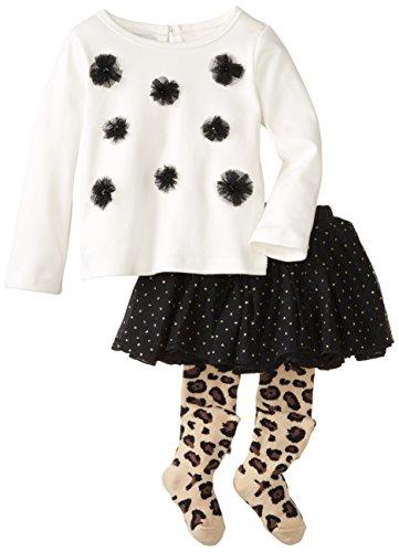Mud Pie Girls Leopard Skirt