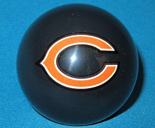 - Vigma NFL Chicago Bears Pool Billiard Cue 8 Ball - Blue