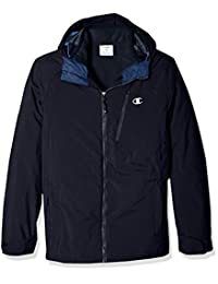 Champion Mens Men's Technical Ripstop with Puffy 3-in-1 Winter Jacket