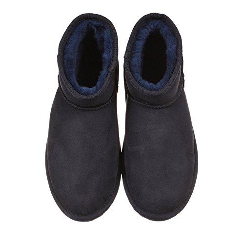 Blu Suede Boots Donna Stinger EMU Micro PHTX1qW