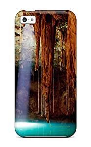 Alex D. Ulrich's Shop Iphone 5c Case Cover - Slim Fit Tpu Protector Shock Absorbent Case (cave)