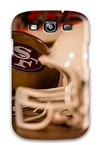 AjtUIFj311uZIkL Case Cover, Fashionable Galaxy S3 Case - American Footballan Francisco 49 Forty Ninerselmet Nfl