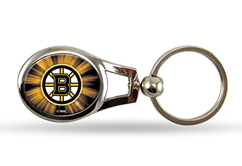 NHL Boston Bruins Oval (Boston Bruins Nhl Keychain)