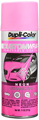 Dupli-Color ECWRC8650 Custom Wrap Neon Dynamic Pink