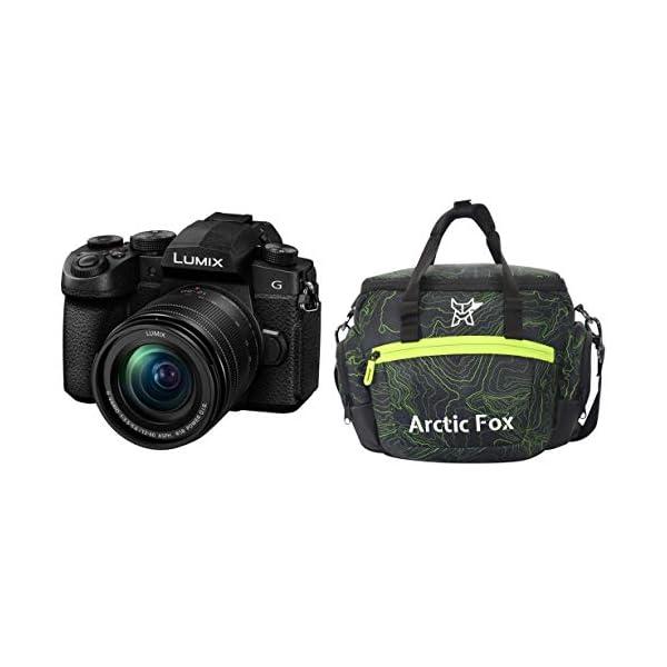 RetinaPix Panasonic Lumix DC-FZ1002 20.1MP Mirrorless Camera with 12-60mm Leica Lens & Arctic Fox Sling Shutter Topography Camera Bag