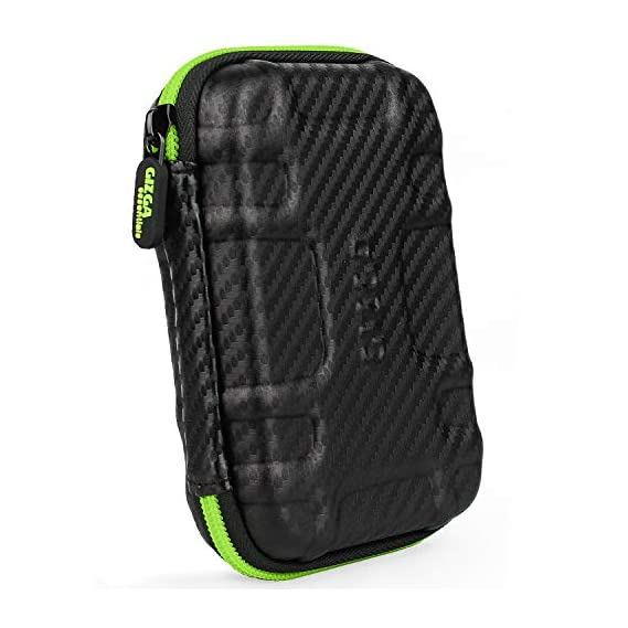 AREO (Black) Travel Electronic Accessories Organizer Bag Case for Cable Charger