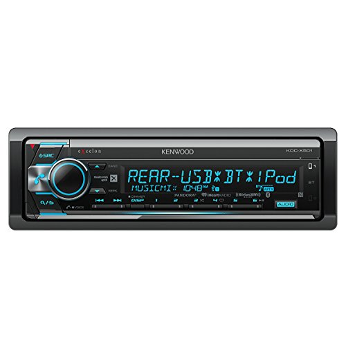 Kenwood Excelon KDC-X501 CD Receiver with Built in Bluetooth -