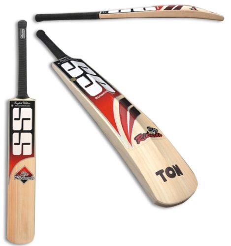 SS Sunridges Viv Richards English Willow Cricket Bat, Short Handle, Medium Weight (Best Of Viv Richards)