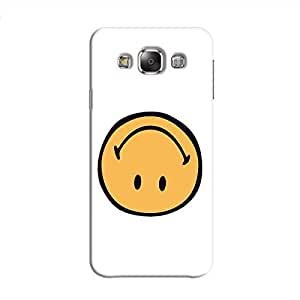 Cover It Up - Upside Down Smile Galaxy E5 Hard Case