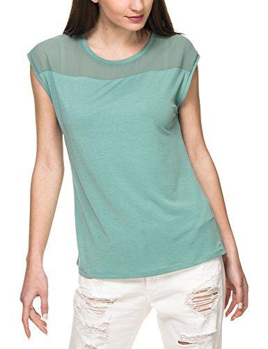 Garcia See Green Through With Dark shirt Jeans Women's T wq6rXazq