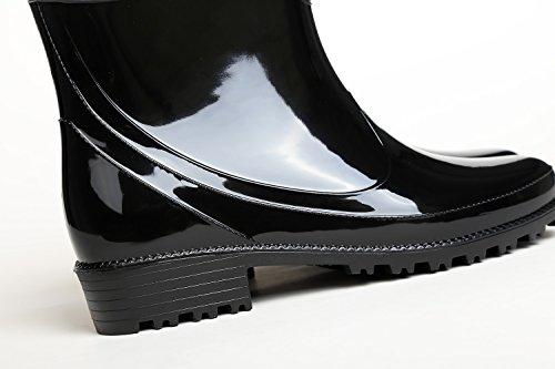 2018 Antiscivolo Casual HUAN Colore 37 da Donna Scarpe Resistente Dimensione PVC Un Donna Impermeabile per Pioggia da Acqua per All'Usura New qXZ8q