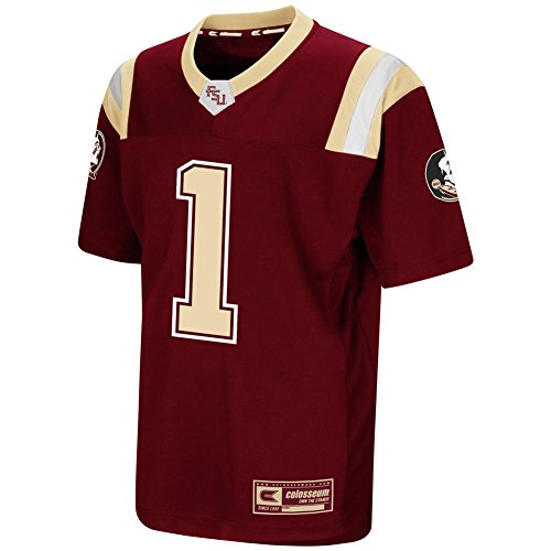 (Colosseum FSU Florida State University Youth Football Jersey Replica Jersey Tee (YTH (16-18)))