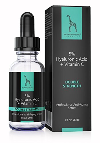 Mother Nature - Hyaluronsäure-Serum || Anti-Aging || Extra Stark