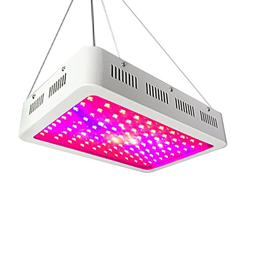 Hoohome Led Grow Light 500W Full Spectrum for Indoor Plants Veg and Flower by Hoohome