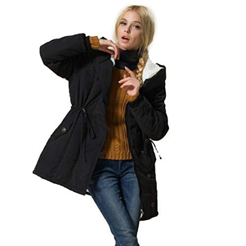 Nat terry Women Fleece Wadded Winter Coat Women Plus Size Hooded Outerwear Jaqueta Feminina Winter Jacket ()
