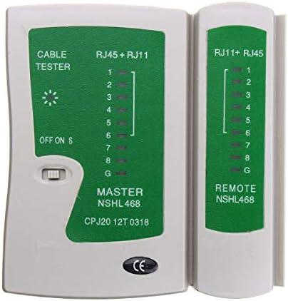 Queenwind PC ネットワークケーブルテスターマザーボードポストアナライザケーブルコンピュータ電源テスターキット