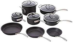 Calphalon 13 Piece Commercial Hard Anodized Cookware Set