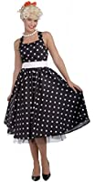 Forum Novelties Women's Flirting with The 50's Polka Dot Cutie