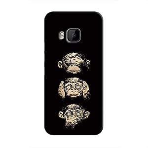 Cover It Up Three monkeys Hard Case For HTC M9