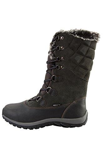 Oscuro Mujer Gris Vostock Mountain Nieve Botas De Para Warehouse W047Yq8