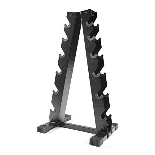 CAP Barbell A-Frame Dumbbell Rack, Black