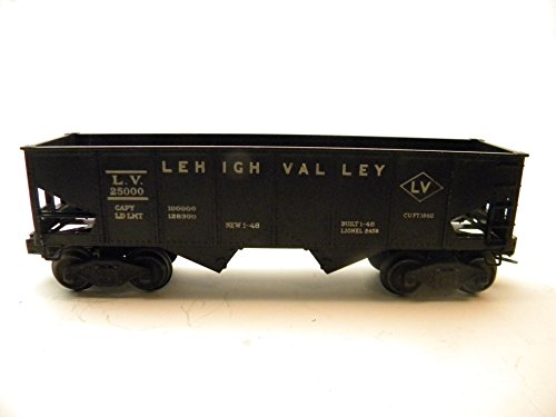 Gauge Car Hopper - Lionel 6456 Lehigh Valley Hopper Car 1948-1955 Vintage O Gauge Lionel