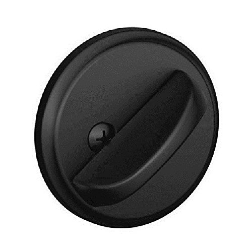 Schlage B80 Single Sided Residential Deadbolt with Thumbturn from the B-Series a, Matte Black B80622