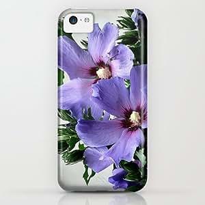 classic - Hibiskus iPhone & iphone 5c Case by Elke Balzen