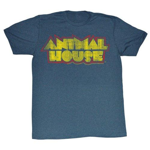 Maison Heather Men shirt Navy Fièvre Animal T En House zw0x1qCE