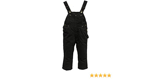 POLAR KING 258.07 Toddler Traditional Insulated Duck Bib Overalls
