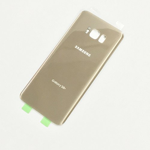 Gold Housing Cover - Battery Door Back Cover Glass Housing Case Battery Cover Adhesive For Samsung Galaxy S8 Plus G955 Two LOGO (Gold)