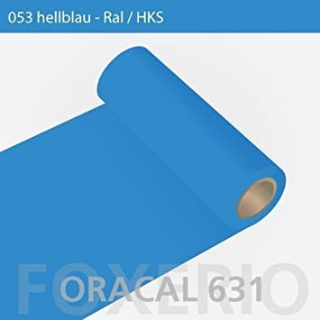 Plotterfolie ORACAL 631 matt 5m x 31cm hellblau 053