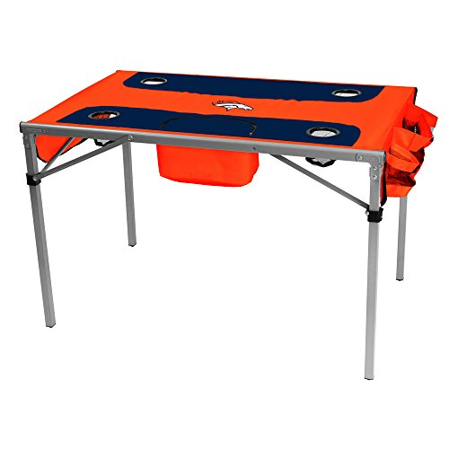 Logo Brands NFL Denver Broncos Total Tailgate Table, One Size, Multicolor