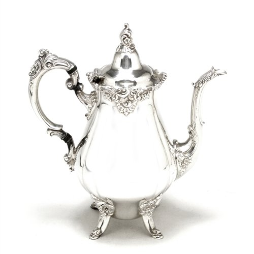 Baroque Silverplate (Baroque by Wallace, Silverplate Coffee Pot)