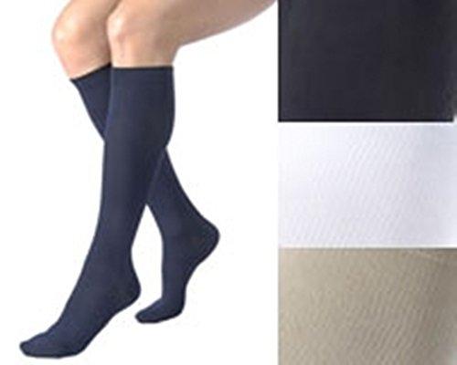Activa 20-30 mmHg Soft Fit Knee High Socks, Tan, Large ()