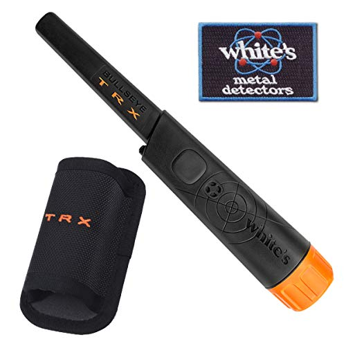 White's TRX Bullseye Waterproof Pin-Pointer with Holster and Iron-On Patch - ()