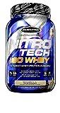 MuscleTech NitroTech Iso Whey Isolate Protein Powder, Vanilla, 1.8-Pound