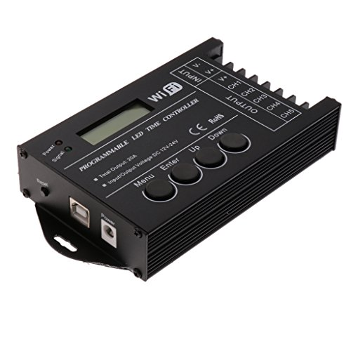 MagiDeal TC421 WiFi Time Programmable LED Controller USB Aquarium Lighting Timer