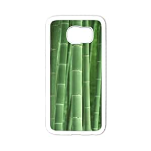 Winfors Bamboo Phone Case For Samsung Galaxy S6 G9200 [Pattern-6]