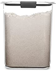 Rubbermaid Brilliance Pantry Airtight Food Storage Container, BPA-Free Plastic, 16 Cup