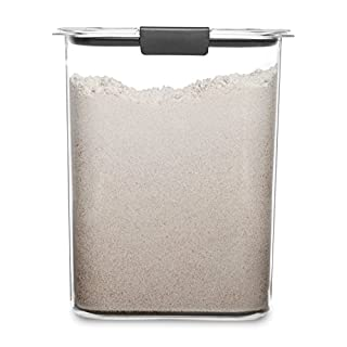 Rubbermaid Container, BPA Free Plastic, Brilliance Pantry Airtight Food Storage, Open Stock, Flour (16 Cup)