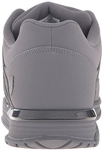 K-Swiss BAXTER - Zapatillas Hombre Charcoal/Gunmetal