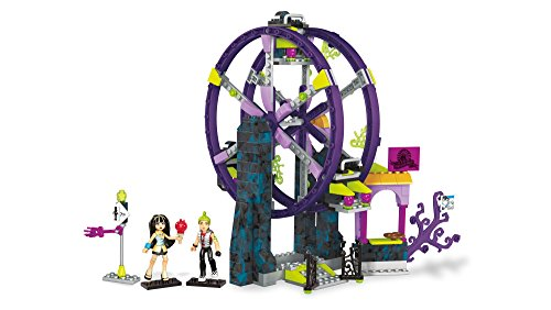 Mega Construx Monster High School Carnival Building Set Action -