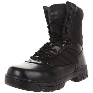 """Bates Men's 8"""" Tactical Sport Side Zip Industrial Shoe"""