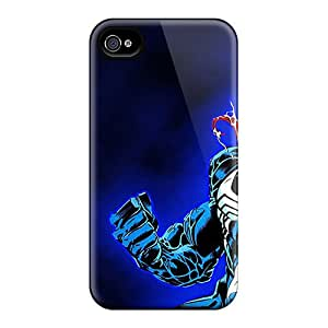 RudyPugh Iphone 4/4s Scratch Resistant Cell-phone Hard Cover Unique Design High Resolution Venom Pictures [tCp4130xPtA]