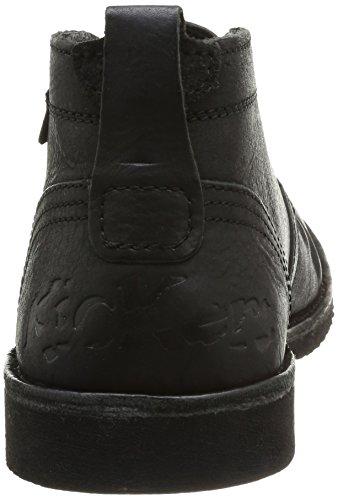 Kickers Jecho2 - Zapatos de Cordones de cuero hombre negro - Noir (8 Noir)